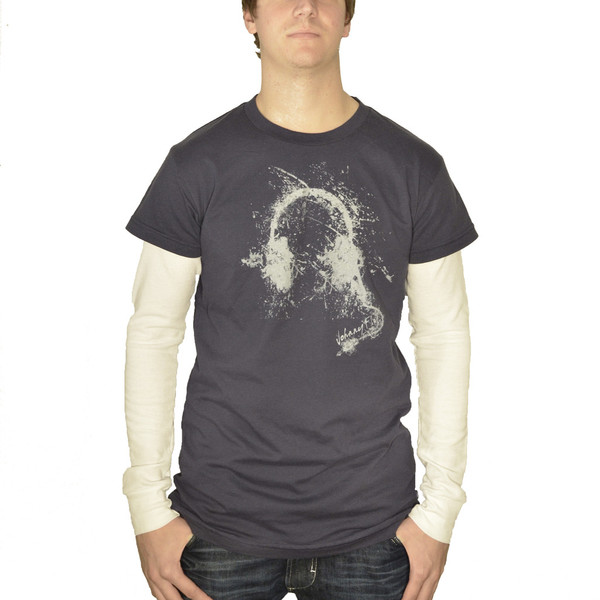 Headphone Tee with Thermal Long Sleeves