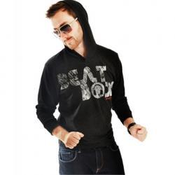 Beat Box Hooded Long Sleeve Tee